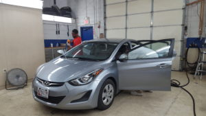 Interior Auto Detailing at White Flint Collision